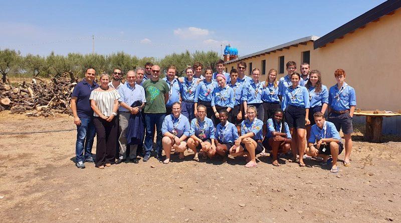 """Belpasso, la cooperativa Libera Terra """"Beppe Montana"""" ospita gli scout di San Vito al Tagliamento"""