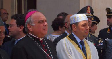 Il Vescovo Gristina e l'imam di Catania come San Francesco ed il sultano Malik ai tempi delle crociate
