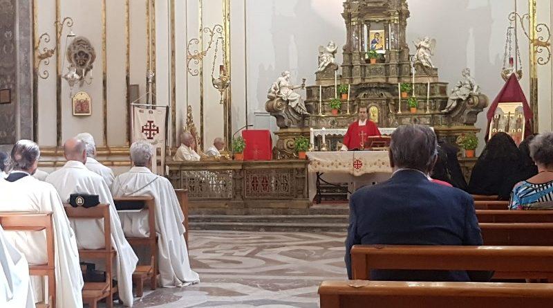 """""""Esaltazione della Santa Croce"""", si apre a Catania l'anno pastorale per l'Ordine del Santo Sepolcro"""