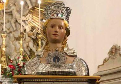 Belpasso pronta alla festa patronale: reliquie di Santa Lucia provenienti da tutta la Sicilia