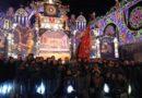 """Belpasso, la tradizionale """"spaccata"""" dei carri segna l'inizio dei festeggiamenti di Santa Lucia"""