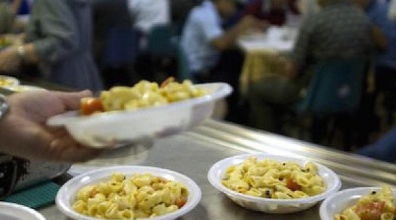 """""""Un cero in meno, un pasto in più"""" nel nome di Sant'Agata: pranzo solidale per 300 bisognosi"""