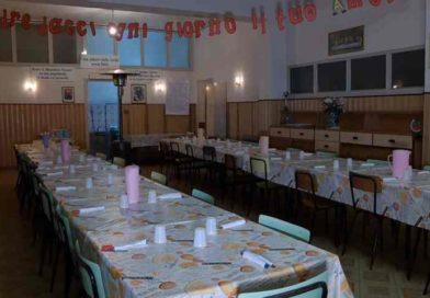A tavola per la prima cena, nella fondazione Dusmet di Belpasso riapre la mensa sociale
