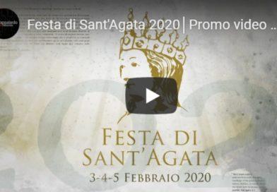 Festa di Sant'Agata 2020: in due minuti le migliori immagini nel video ufficiale della festa