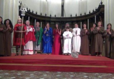 """In scena """"Il martirio di Agata"""" di Don Sapienza: «Stimolo per accostarsi di più alla Parola di Dio»"""