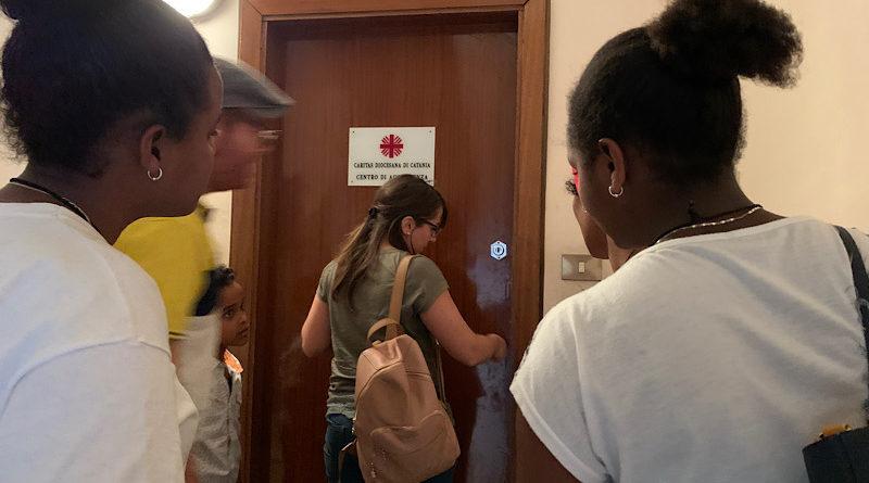 """Un """"rifugio"""" della Caritas per donne vittime di violenza in un immobile confiscato alla mafia"""