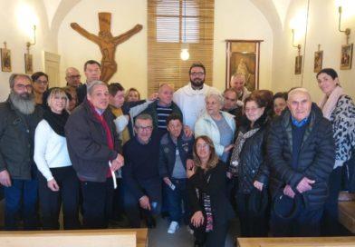 Pedara, nella Domus Caritatis volontari a pranzo con i degenti nella giornata mondiale del malato