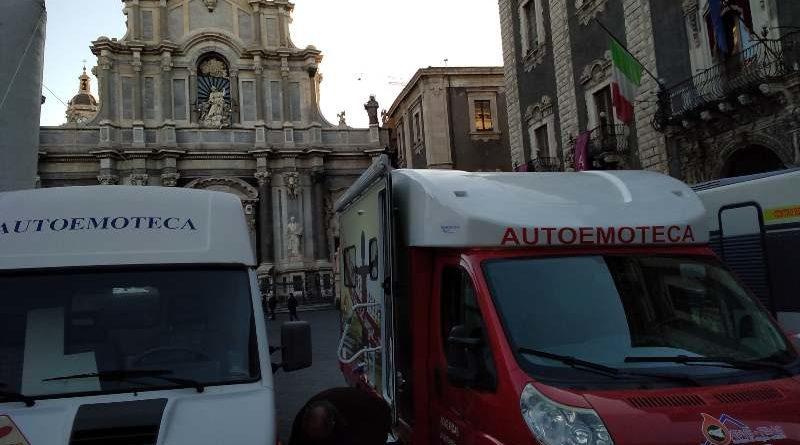 """""""Ottava"""" di solidarietà per Sant'Agata: Diocesi e volontari invitano alla donazione di sangue"""