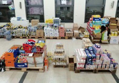 """""""Supermercato Solidale"""", a Paternò il Coronavirus accresce la carità di fedeli e aziende"""
