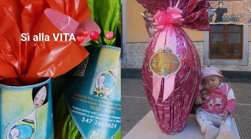 """Uova di Pasqua solidali, l'iniziative del """"Centro Aiuto alla Vita"""" per regalare un sorriso a chi è in difficoltà"""