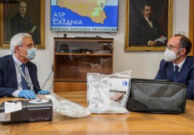 STMicroelettronics dona 90 ventilatori polmonari all'Asp di Catania
