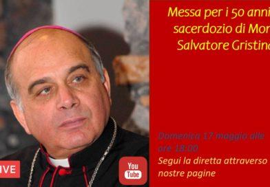 Guarda la diretta: L'Arcivescovo in Cattedrale    celebra la Messa per il suo 50° di sacerdozio