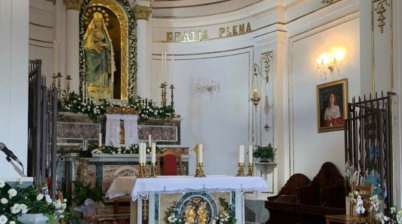 Segui la diretta da Mompileri: l'Arcivescovo celebra la Messa