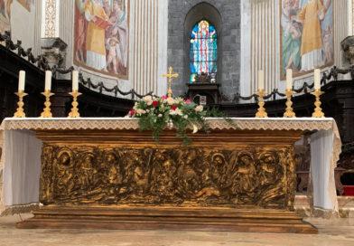 Guarda la diretta: L'Arcivescovo in Cattedrale celebra la Messa del Corpus Domini