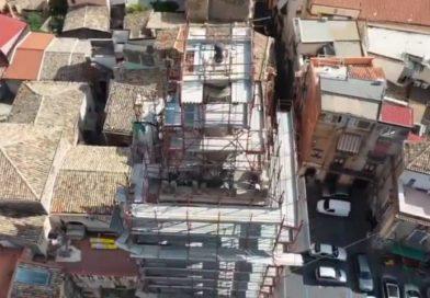 Adrano, la Parrocchia di San Pietro chiede aiuto ai fedeli per il restauro del campanile