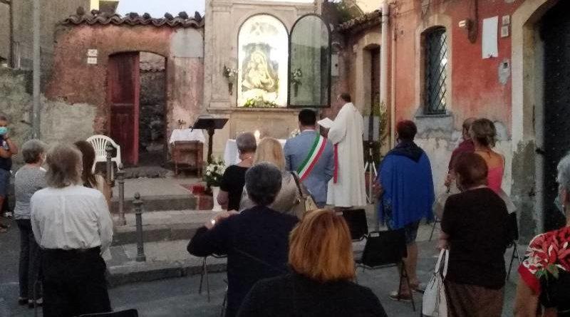 Tremestieri Etneo, il coronavirus non ferma il pellegrinaggio alla Madonna di Valverde