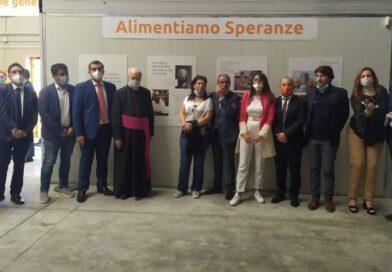 Inaugurato all'interno del MAAS il nuovo magazzino del Banco Alimentare della Sicilia Onlus