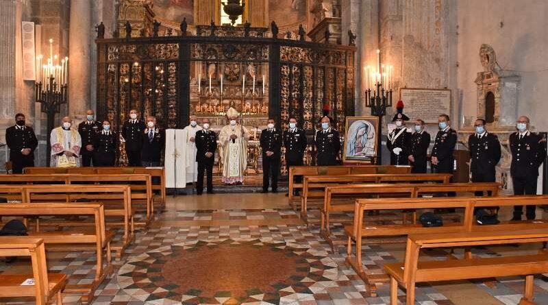 """Commemorata nella Cattedrale di Catania la """"Virgo Fidelis"""", Patrona dell'Arma dei Carabinieri"""