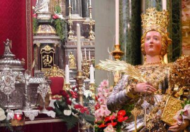 """Santa Barbara a Paternò, festeggiamenti """"light"""" ma con la devozione di sempre"""