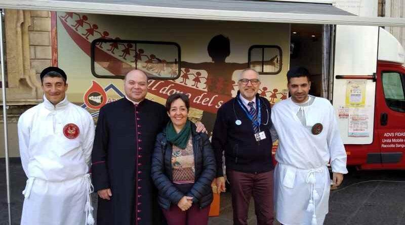 Annuale raccolta di sangue in onore di Sant'Agata, tra le limitazioni dovute alla pandemia