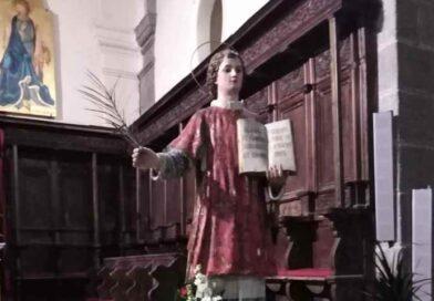 Paternò in festa per il suo compatrono S. Vincenzo martire e diacono di Saragozza