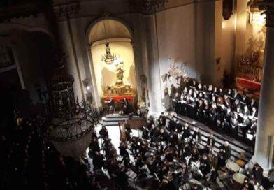 Omaggio a S. Agata, il Coro Lirico Siciliano canta il brano delle monache benedettine di via Crociferi