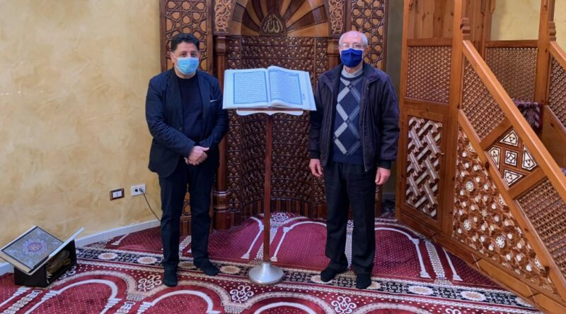 Donazione Caritas alla Moschea, Don Piero Galvano: «Educarci all'accoglienza»