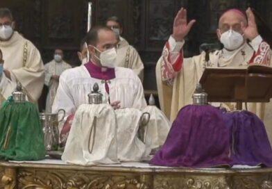 Diretta dalla Cattedrale: l'Arcivescovo celebra la Messa Crismale e annuncia l'ordinazione di tre sacerdoti