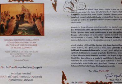 Nasce il Terz'Ordine Carmelitano a Biancavilla, a firmare la pergamena costitutiva il priore O'Neill