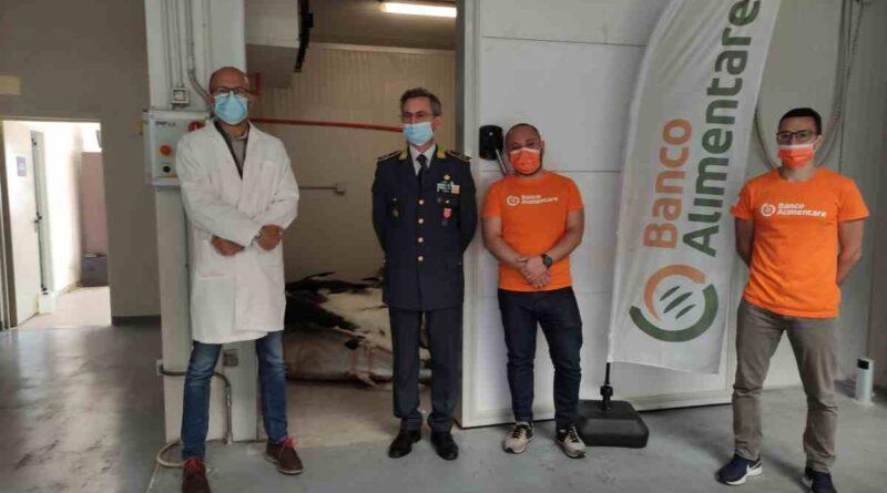 Banco Alimentare, distribuiti 3.450 kg di  tonno e pesce spada sequestrati dalla Guardia di Finanza
