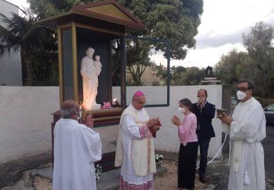 Catania, nel monastero delle clarisse inaugurata un'edicola votiva dedicata a San Giuseppe